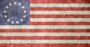 German War Flag Usa U0027betsy Ross U0027 Grunge Flag 1777 1795 By Undevicesimus On