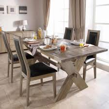 Refurbished Dining Tables Chunky Wood Dining Tables Rustic Farmhouse Dining Room Tables