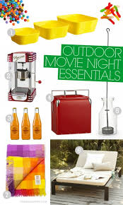 Backyard Movie Party Ideas by 64 Best Outdoor Movie Night Ideas Images On Pinterest Outdoor