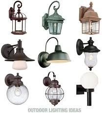 Outdoor Home Lighting Gorgeous Outdoor Area Lighting Fixtures 17 Best Ideas About Porch