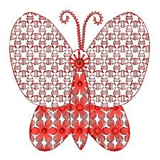 creative butterfly embroidery designs