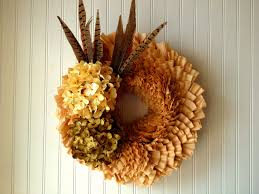 coffee filter wreath for fall front door wreath wreath for