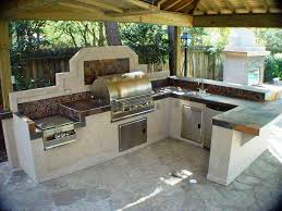 granite for outdoor kitchen top beautiful outdoor kitchen with