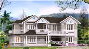 Colonial Homes For Sale by Colonial Style House Plans In Kerala Youtube