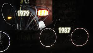 Light Bicycle I Want To See You Use Your Lights Bicycle Dutch
