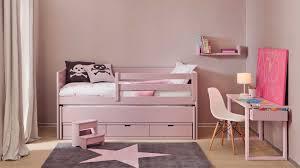 chambre fille avec lit superposé lit avec bureau pour fille inspirations avec bureau pour fille des