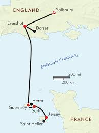Dorset England Map by Ancient Britain To The Channel Islands Itinerary U0026 Map