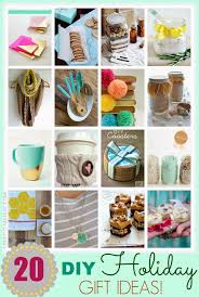 holiday gift ideas top 20 diy holiday gift ideas