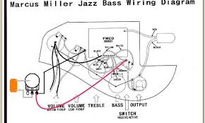fender marcus miller jazz bass wiring diagram wiring diagram and