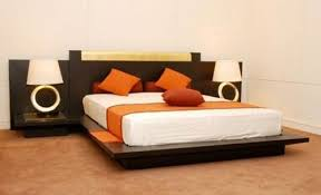 living spaces side tables dawn bed with side tables modern beds living space new delhi