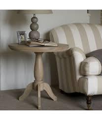 Coffee Table Pedestal Henley 60cm Oak Pedestal Side Table