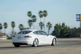 nissan leaf quarter mile time 2017 tesla model s p100d first test a new record 0 60 mph in
