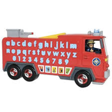 buy fireman sam alphabet rescue educational toys range