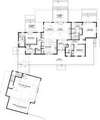 craftsman style house plan 3 beds 3 00 baths 2694 sq ft plan 895 19