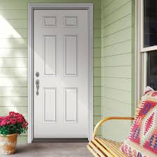 decor 6 lite clear craftsman home depot entry doors in white for