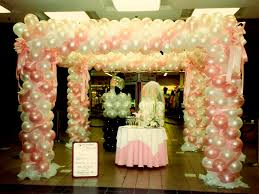 wedding arch balloons balloon canopy ideas balloons n party decorations orange county