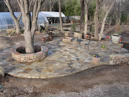 backyard flagstone patio ideas patio decoration