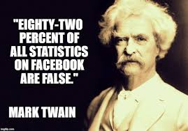 Mark Twain Memes - part of the problem 364 days of thanksgiving