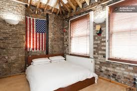 chambre etats unis appartement esprit loft chambre avec drapeau des etats unis