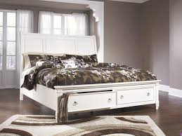Ashley Bed Frames by Ashley B672 Prentice Storage Bed
