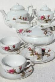 roses tea set laurel leaf farm search results for vintage moss tea set