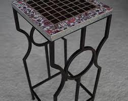 Mosaic Accent Table Broken China Mosaic Etsy