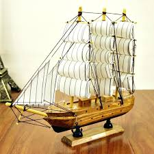 pure home decor sailboat home decor wooden ship craft sailing boat wood model