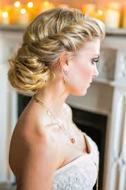 wedding long big curly hairstyle