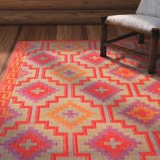 red outdoor rugs you u0027ll love wayfair