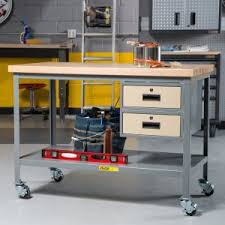 Portable Work Bench Portable Work Benches On Hayneedle Workbenches On Wheels