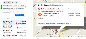 Google Maps Maker Google Maps Transit Now Includes Planned Nyc Subway Disruptions