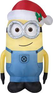 amazon com gemmy airblown inflatable dave the minion wearing a