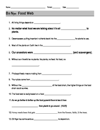 this 13 question worksheet provides a way for students to follow