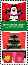 Christmas Tree Card Craft Christmas Lights Decoration