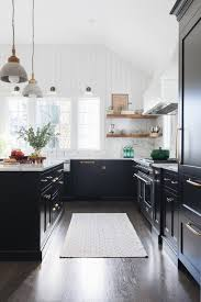 modern farmhouse kitchen cabinets white modern farmhouse kitchen in black and white town country