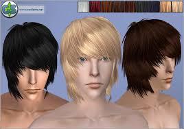 skater boys hair styles spring4sims skater boy hair for guys by cool sims