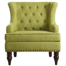 Grey And Yellow Chair Green Accent Chairs You U0027ll Love Wayfair