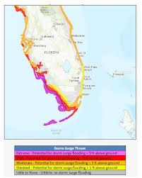 Map Florida West Coast by Irma Slams Florida Catastrophic Storm Surge Expected Phil U0027s
