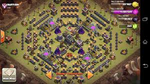 scary pumpkin coc base the top guy in the enemy clan has quite the interesting base