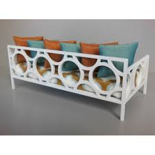 modern dollhouse furniture m112 pods cortez daybed with white