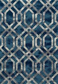 Modern Blue Rug Bastille Modern Area Rug Ar 041 Blue Art Carpet The Log
