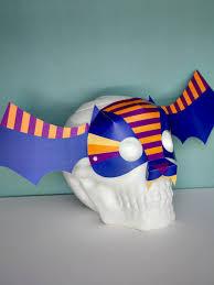 Halloween Masks Crafts by Boo Tiful Masks Smallful