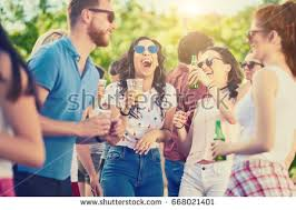 outdoor party stock images royalty free images u0026 vectors