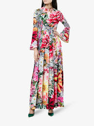 coloured dress katrantzou desmine paint by numbers print multi coloured