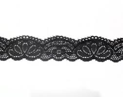 lace ribbon 10 yards of black lace trim lace ribbon 1 1 2 8 cm from