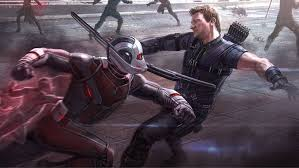 ant man hawkeye captain america civil war concept art