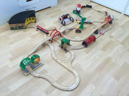 Brio Train Table Set Working From An Initial Track Design It Just Grew And Grew A Few