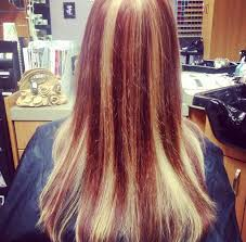 blonde hair with chunky highlights 60 brilliant brown hair with red highlights