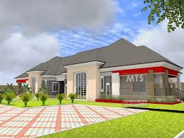 bedroom bungalow house plan in nigeria kenya pictures a of five