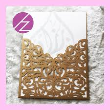 muslim wedding cards free shipping party favor luxury wedding invitations